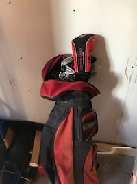 red and black golf bag Saskatoon, S7W 0J7