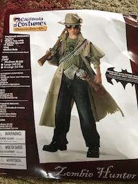Halloween costume - Zombie Hunter size 8-10 Fairfax Station, 22039