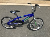 Boys Bike - Royal Blue Aldie, 20105