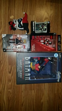 Harley Quinn statues and collectables  Toronto, M1H