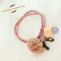 Pink and white beaded bracelet 埃德蒙顿, T6W 0C8