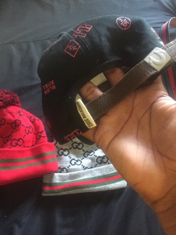 2386633cea37c Used 2 Gucci hats and 1 true religion hat 20 each for sale in Covington -  letgo
