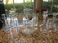 Vintage crystal and glass pieces Kingsville, 21087