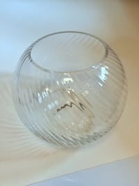 Crate and Barrel Glass Vase Chicago