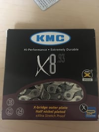 Kmc 8-9 speed chain brand new Vancouver, V5N