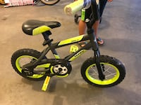 Toddler's black and green  bicycle Prior Lake, 55372