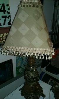 white and brown table lamp Orlando, 32817