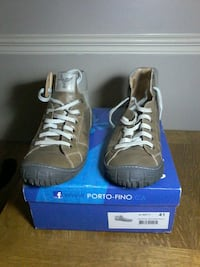 Porto-fino Marron Leather shoes Toronto, M6B