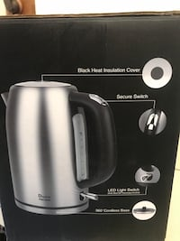 Doctor Hetzner Electric Kettle Brand New Silver Spring, 20910