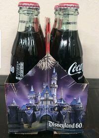 DISNEYLAND 60th Anniversary 6 pack collectible  Torrance, 90501