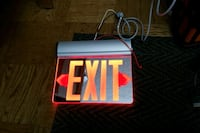 new EXIT sign Toronto, M1H 1N9