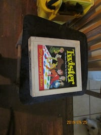 35th Anniversary Edition Twister Game in nice wooden box