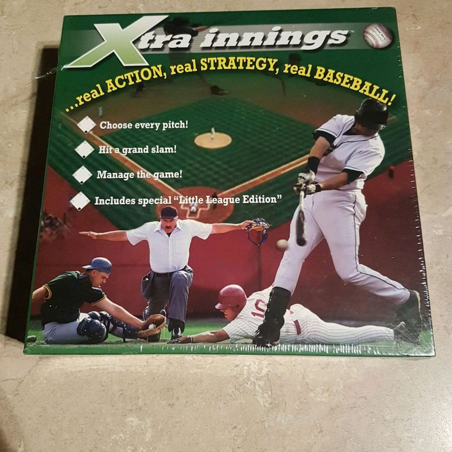 Xtra Innings Action Strategy Baseball Game
