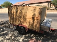 brown and black utility trailer Maricopa