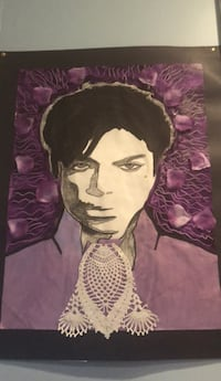Prince painting ... I drew and painted it . I can go to u but not far ..... Hackensack, 07601