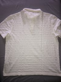 John Varvatos White Polo Shirt for Men Size XL Washington, 20018