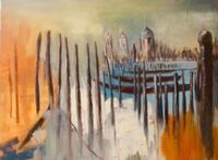 """""""Venice"""" (oil painting on canvas 60*80)"""