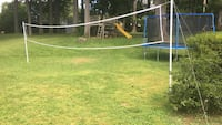 Volleyball net and ball 27 km