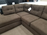New Ashley furniture walnut sectional College Park