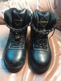 US size 7 men's steel toed boots for sale.  Calgary, T2G 2Z5