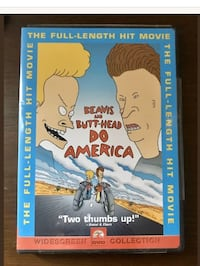 Beavis and Butt-Head Do America DVD