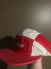 Authentic supreme camp cap