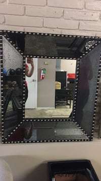 black and white wooden framed mirror McAllen, 78501