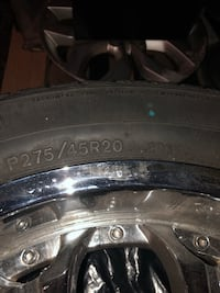 Rims and tires for $350 East Stroudsburg