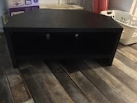 rectangular black wooden coffee table Sebastian, 32958
