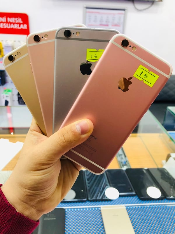 Iphone 6s 16 Gb 2d80ae41-62ca-40d5-b196-e5e72acb10f4