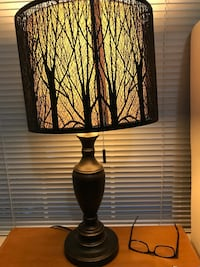 black and brown table lamp Silver Spring, 20902
