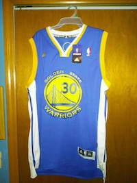 (Read Description) New Warriors Jersey Steph Curry Valrico, 33596