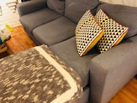 two gray and black fabric sofa chairs Toronto, M4T 1P1