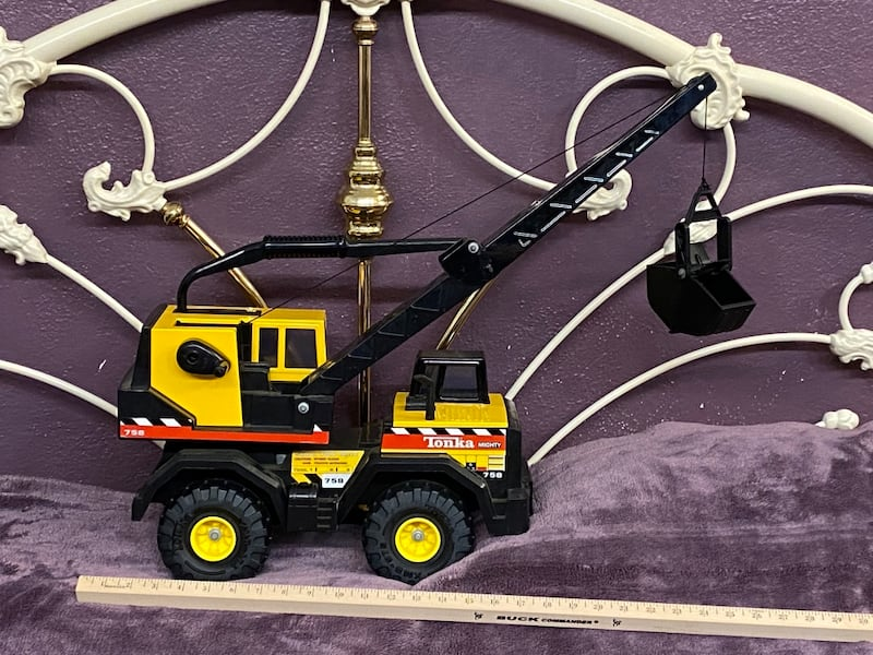 Tonka Mighty 758 Crane 0