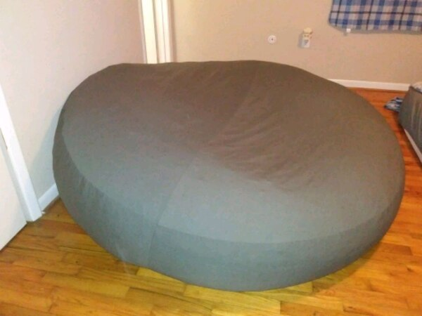 Pleasant Giant Bean Bag Chair Bed Pabps2019 Chair Design Images Pabps2019Com