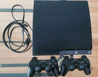 Selling PlayStation 3 with two controllers!!! Brampton, L7A 0J3