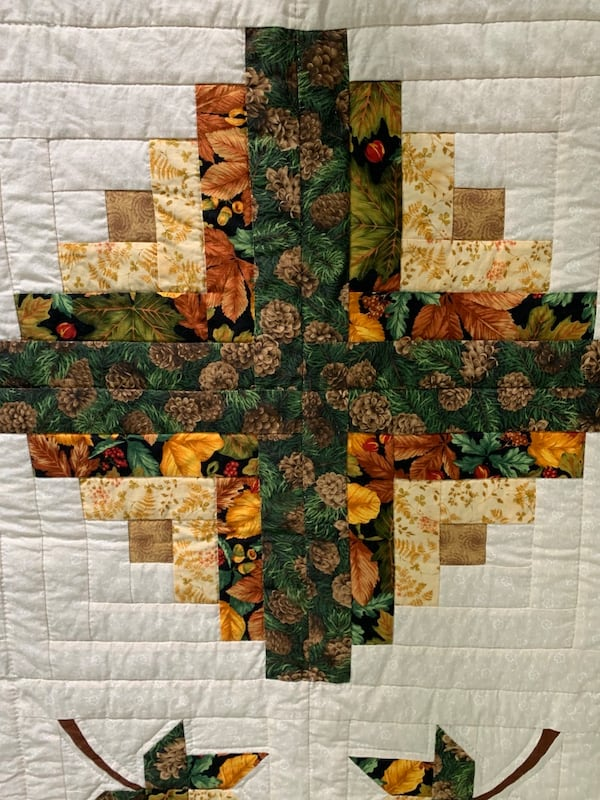 Fall themed authentic quilt  528d9c3a-4e22-4e79-8c77-265b3e454845