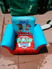 blue and red paw patrol sofa chair Hyattsville, 20783