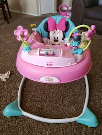 baby's pink and teal Minnie Mouse walker El Paso, 79924