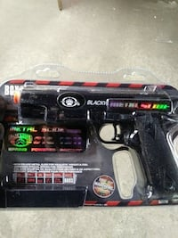 black airsoft pistol pack