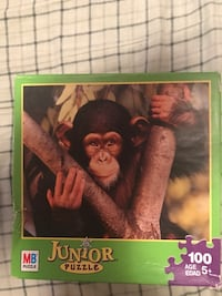 11 Boxes Junior puzzles 100 piece box $1.00 each Inwood, 25428