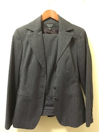 Gray suit jacket and pants