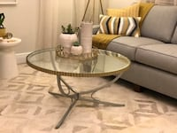 White and gray wooden table Plantation, 33317