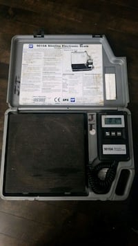 TIF 9010A used Electronic Refrigeration Charging scale