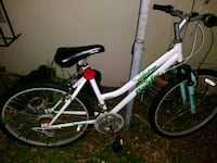 white and black hardtail bike Hollywood, 33020