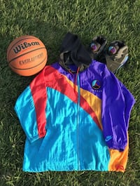 Vintage Nike Air Jordan Aqua 8 windbreaker jacket South Gate, 90280