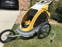 Via Velo Bike Trailer/ Jogger  Aurora, 80018