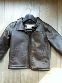Boys leather bomber jacket 24 mos Mississauga, L5M 5V5