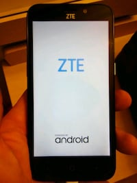 black ZTE Android smartphone College Station, 77840