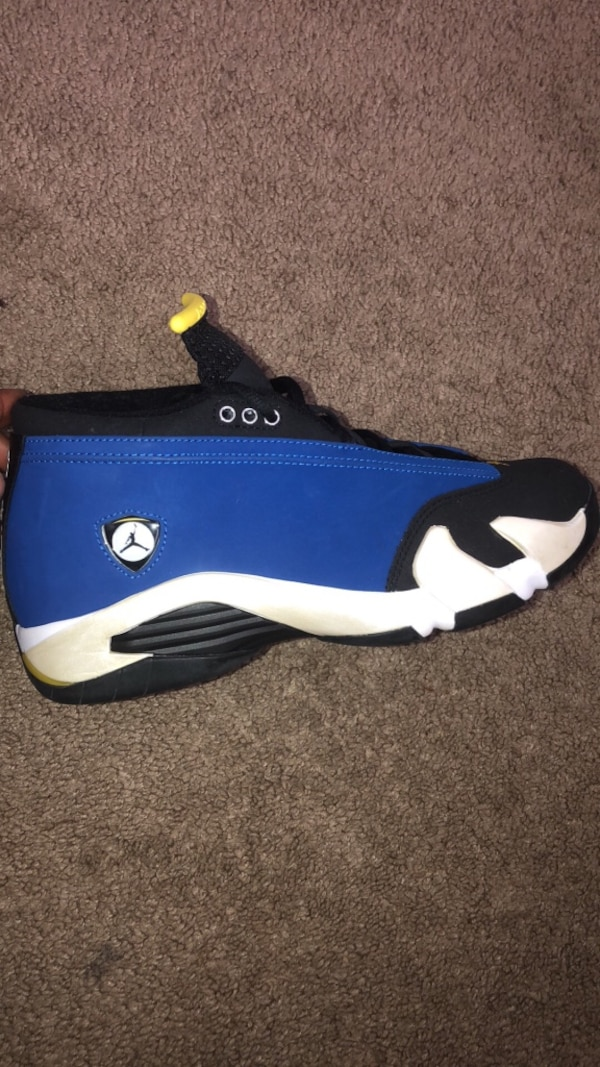 Jordan 14 Laney Blue white Men's size 9